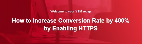How to Increase Conversion Rate by 400% by Enabling HTTPS