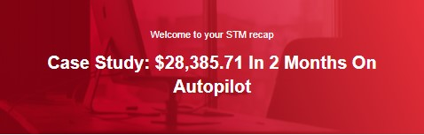 Case Study: $28,385.71 In 2 Months On Autopilot