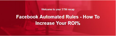 Facebook Automated Rules - How To Increase Your ROI%