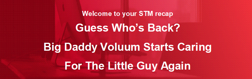 Guess Who's Back? Big Daddy Voluum Starts Caring For The Little Guy Again
