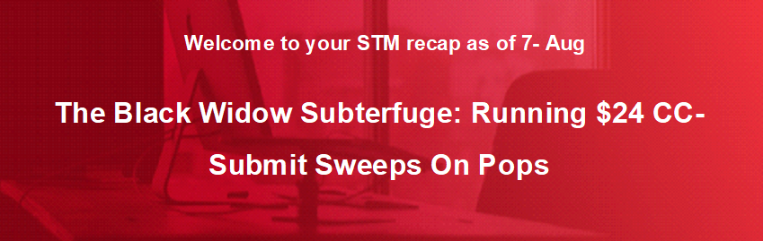 The Black Widow Subterfuge: Running $24 CC-Submit Sweeps On Pops