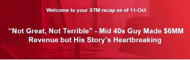"""Not Great, Not Terrible"" - Mid 40s Guy Made $6MM Revenue But His Story's Heartbreaking"