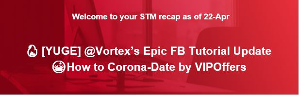 🔥[YUGE] @Vortex's Epic FB Tutorial Update 😷How to Corona-Date by VIPOffers