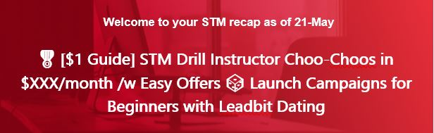 🎖️[$1 Guide] STM Drill Instructor Choo-Choos in $XXX/month /w Easy Offers 🎲Launch Campaigns for Beginners with Leadbit Dating
