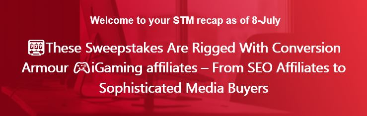 🎰These Sweepstakes Are Rigged With Conversion Armour 🎮iGaming affiliates –  From SEO Affiliates to Sophisticated Media Buyers