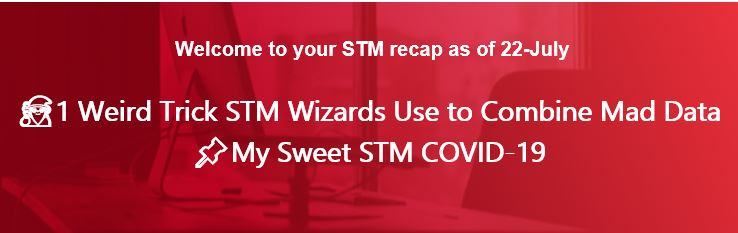 🧙‍♂️1 Weird Trick STM Wizards Use to Combine Mad Data 📌My Sweet STM COVID-19