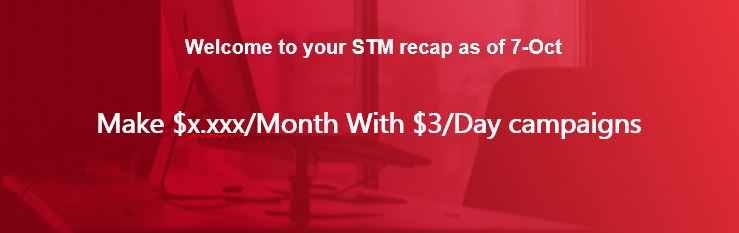 Make $x.xxx/Month With $3/Day campaigns
