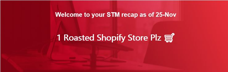 1 Roasted Shopify Store Plz 🛒