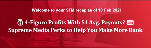 💰 4-Figure Profits With $1 Avg. Payouts? 💳 Supreme Media Perks to Help You Make More Bank